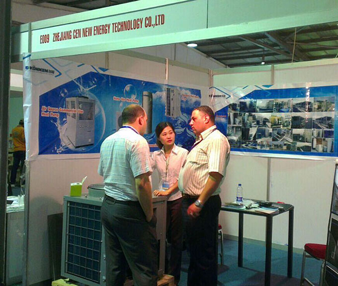 Zhejiang Konnen New Energy Technology Co., Ltd.has just finished the trading fair in Jordan for new energy products