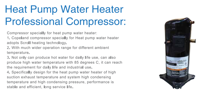 Air Source Heat Pump Water Heater commercial use air source heat pump water heater - heat pump water