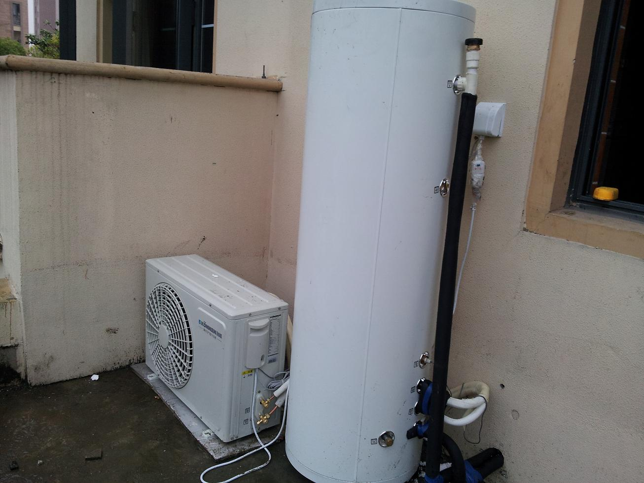 Hot water project for home